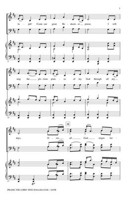 Traditional: Praise The Lord! Sing Hallelujah: Arr. (John Leavitt): SATB