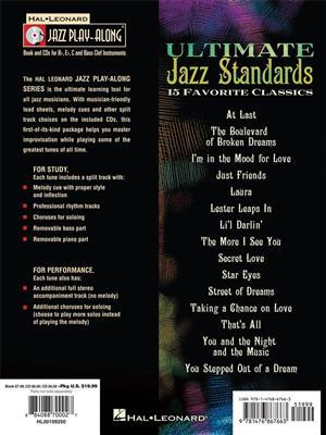 Ultimate Jazz Standards: C/ B-Flat/E-Flat and Bass Instruments