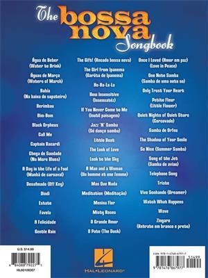 The Bossa Nova Songbook: Piano, Vocal, Guitar