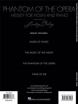 Andrew Lloyd Webber: The Phantom of the Opera: Arr. (Lindsey Stirling): Violin