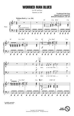 Hal Leonard: Worried Man Blues