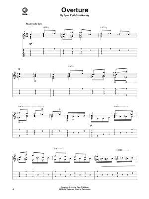 Pyotr Ilyich Tchaikovsky: Nutcracker Suite: Arr. (Tony D'Addono): Guitar