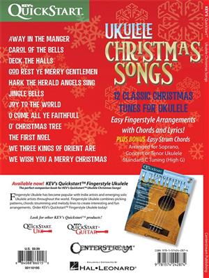 Kevin Rones: Ukulele Christmas Songs: Ukulele