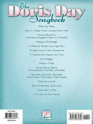 Doris Day: The Doris Day Songbook: Piano, Vocal and Guitar (songbooks)