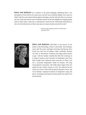 Edna-Mae Burnam: Classic Piano Repertoire: Piano