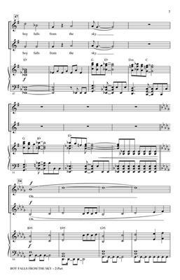 Bono: Boy Falls from the Sky: Arr. (Mac Huff): 2-Part Choir