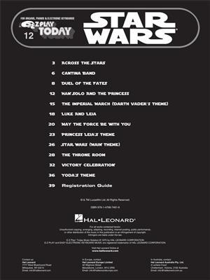 John Williams: Star Wars: Piano or Keyboard