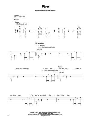 Jimi Hendrix: Jimi Hendrix Experience: Smash Hits: Banjo or Mandolin