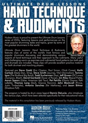 Hudson Music: Hand Technique & Rudiments