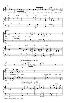 Avenue Q: There's a Fine, Fine Line: Mixed Choir