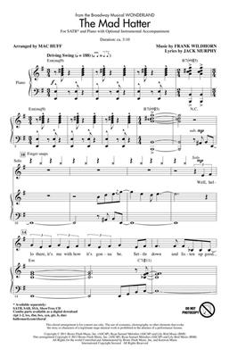 The Mad Hatter: Arr. (Mac Huff): SATB