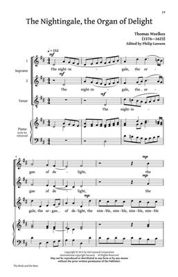 John Bartlett: The Birds and the Bees: Arr. (Philip Lawson): SATB