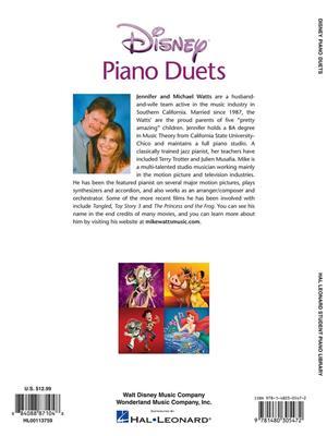Jennifer Watts: Disney Piano Duets: Piano or Keyboard
