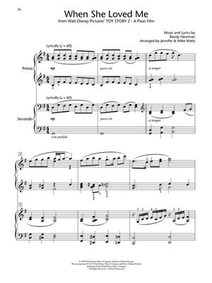 Disney Piano Duets: Arr. (Jennifer Watts): Piano Duet