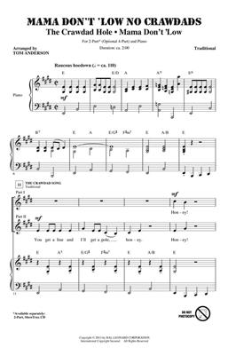 Traditional: Mama Don't 'Low No Crawdads: Arr. (Tom Anderson): 2-Part Choir