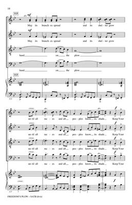 Langston Hughes: Freedom's Plow: SATB