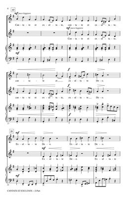 Ken Berg: Cantate et Exultate: Mixed Choir a Cappella