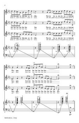 Nesta Rua: Arr. (Brad Green): 3-Part Choir