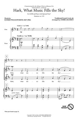Hark, What Music Fills the Sky!: Arr. (Andrea Ramsey): SATB