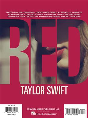 Taylor Swift: Taylor Swift – Red: Easy Piano