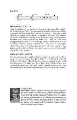 Traditional: Red River Dances: Arr. (Cristi Cary Miller): 3-Part Choir