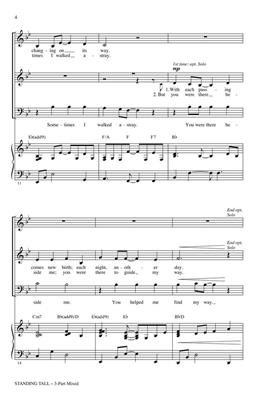 Cristi Cary Miller: Standing Tall: 3-Part Choir