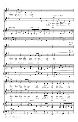 Cristi Cary Miller: Standing Tall: 2-Part Choir