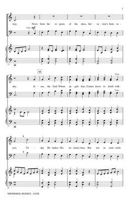 The Sacred Harp: Shepherds, Rejoice: Arr. (Stan Pethel): SATB