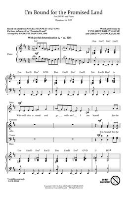 Chris Wommack: I'm Bound for the Promised Land: SATB
