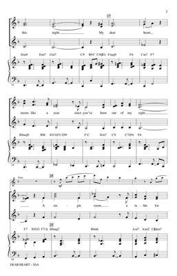 Henry Mancini: Dear Heart: Arr. (Kirby Shaw): SSA
