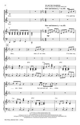 Brian May: We Will Rock You: Arr. (Mac Huff): 2-Part Choir