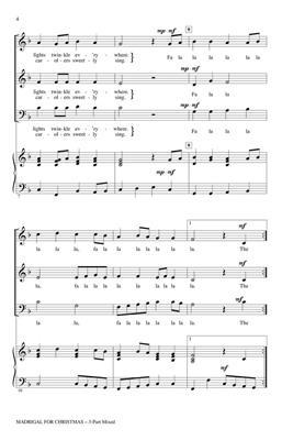Hal Leonard: Madrigal for Christmas