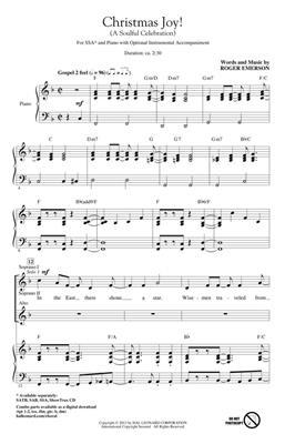 Roger Emerson: Christmas Joy!: SSA