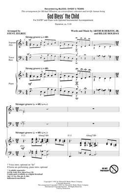 Hal Leonard: God Bless' The Child