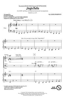 James Pierpont: Jingle Bells: Arr. (David Foster): SATB