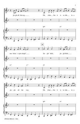 James Pierpont: Jingle Bells: Arr. (David Foster): SSA