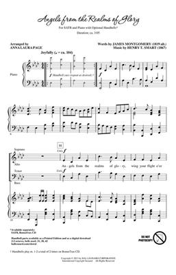 Henry Smart: Angels from the Realms of Glory: Arr. (Anna Laura Page): SATB
