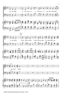 Henry Smart: Angels from the Realms of Glory: Arr. (Anna Laura Page): Handbells