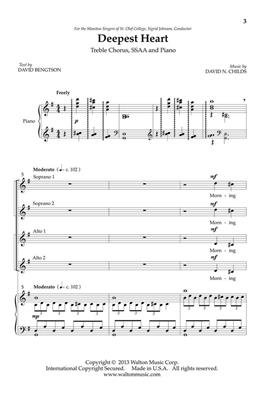 David Bengtson: Deepest Heart: Upper Voices a Cappella