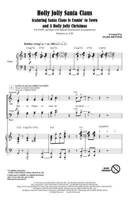 Holly Jolly Santa Claus: Arr. (Mark Brymer): SATB