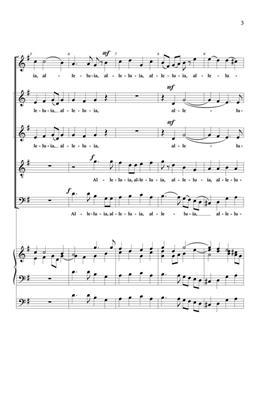 Georg Friedrich Händel: Alleluia: SATB