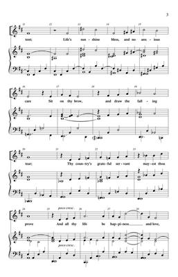 Paul Ayres: And All Thy Life: 2-Part Choir