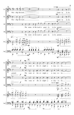 Dan Davison: O Sing to the Lord: Lower Voices a Cappella