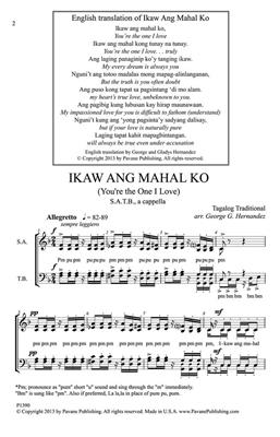 Traditional: Ikaw Ang Mahal Ko: Arr. (George Hernandez): SATB