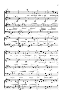 David Dickau: Love Came Down at Christmas: SATB