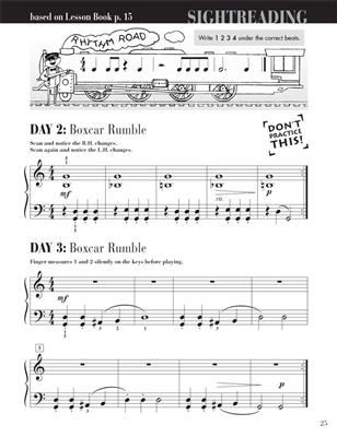Nancy Faber: Piano Adventures Level 2B -  Sightreading Book: Piano or Keyboard