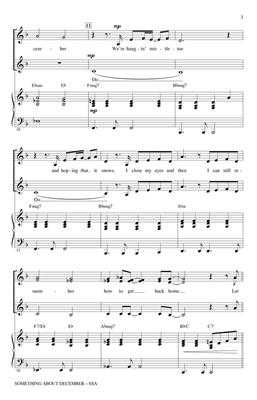 Christina Perri: Something About December: Arr. (Mac Huff): SSA
