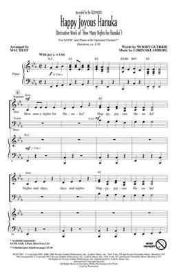 Hal Leonard: Happy Joyous Hanuka