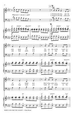 Adam Young: When Can I See You Again?: Arr. (Mark Brymer): 3-Part Choir