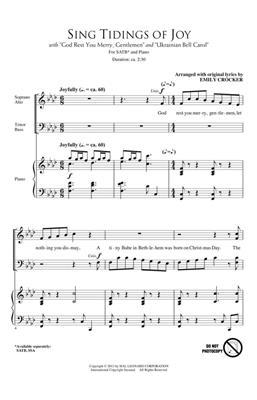 Sing Tidings of Joy: Arr. (Emily Crocker): SATB